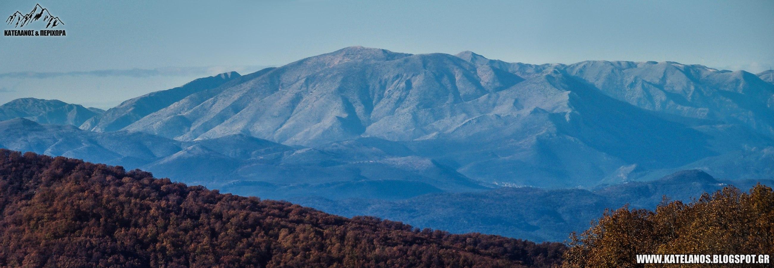 ακαρνανικα ορη μπουμιστος βουνο οροσειρα