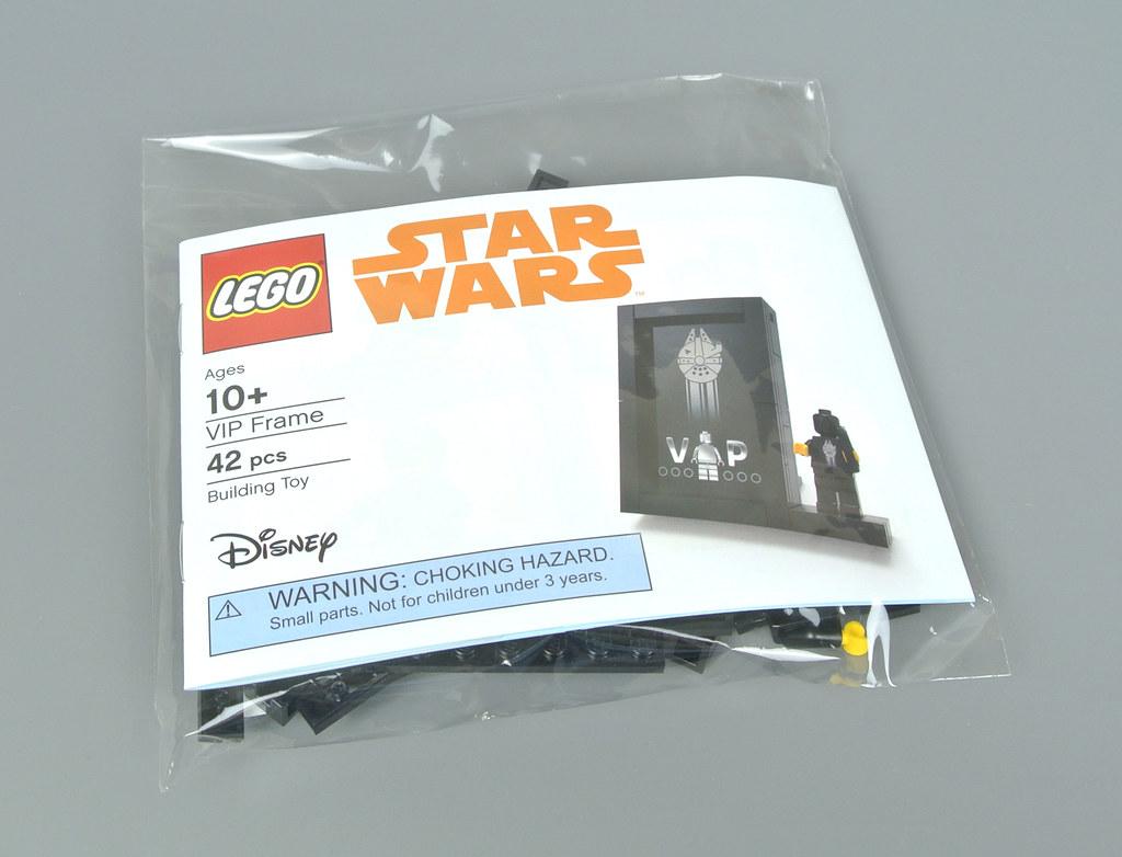BLACK VIP FIGURE GIFT 5005747-2018 ULTRA RARE LEGO STAR WARS NEW