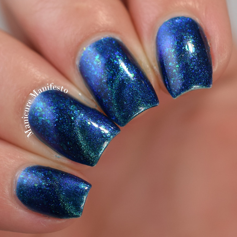 Bees Knees Lacquer Aurora Borealis review
