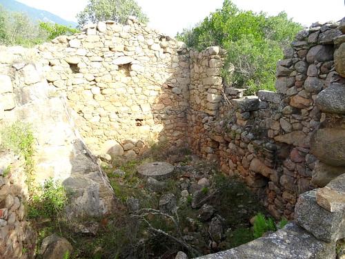 Urgonu suttanu : intérieur du moulin