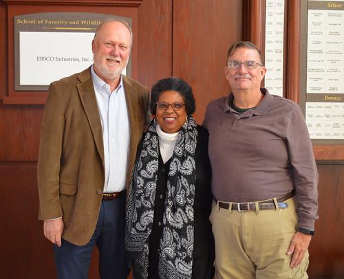 Larry Teeter, Brenda Allen and Arthur Chappelka
