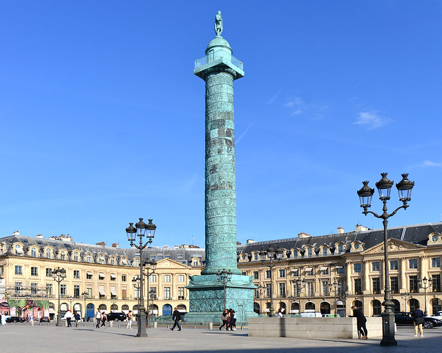 Plaza Vendome de París