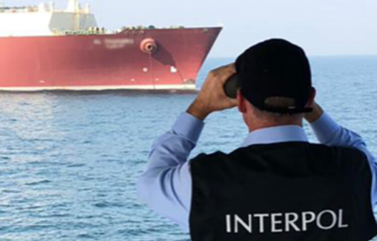 包括國際刑警組織在內的百家跨國機構執行海洋污染執法計畫「30 Days at Sea」。圖片來源:Interpol。