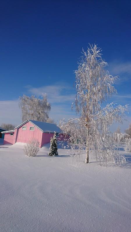 Около дома Копыловых
