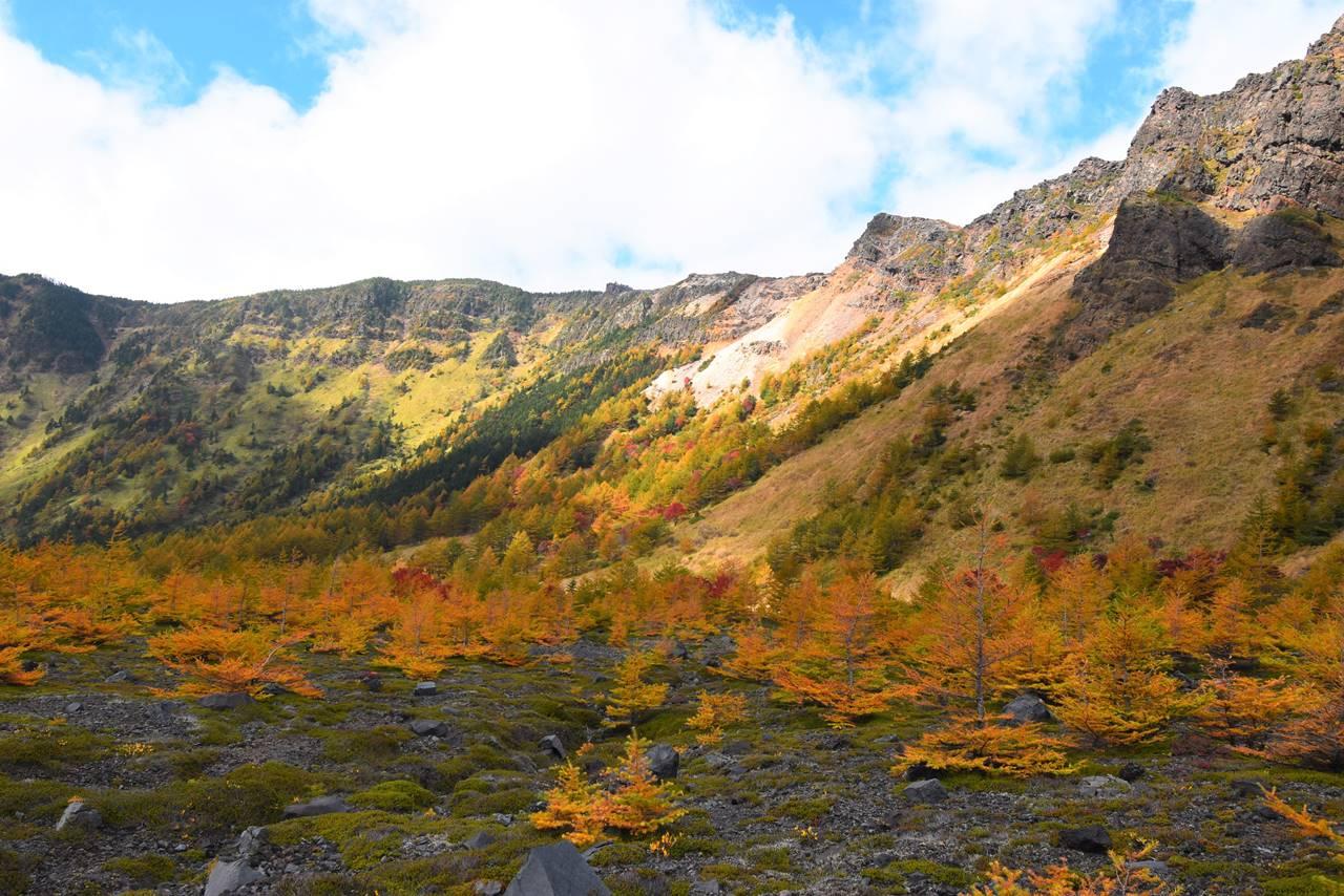 浅間山(前掛山~黒斑山)紅葉登山