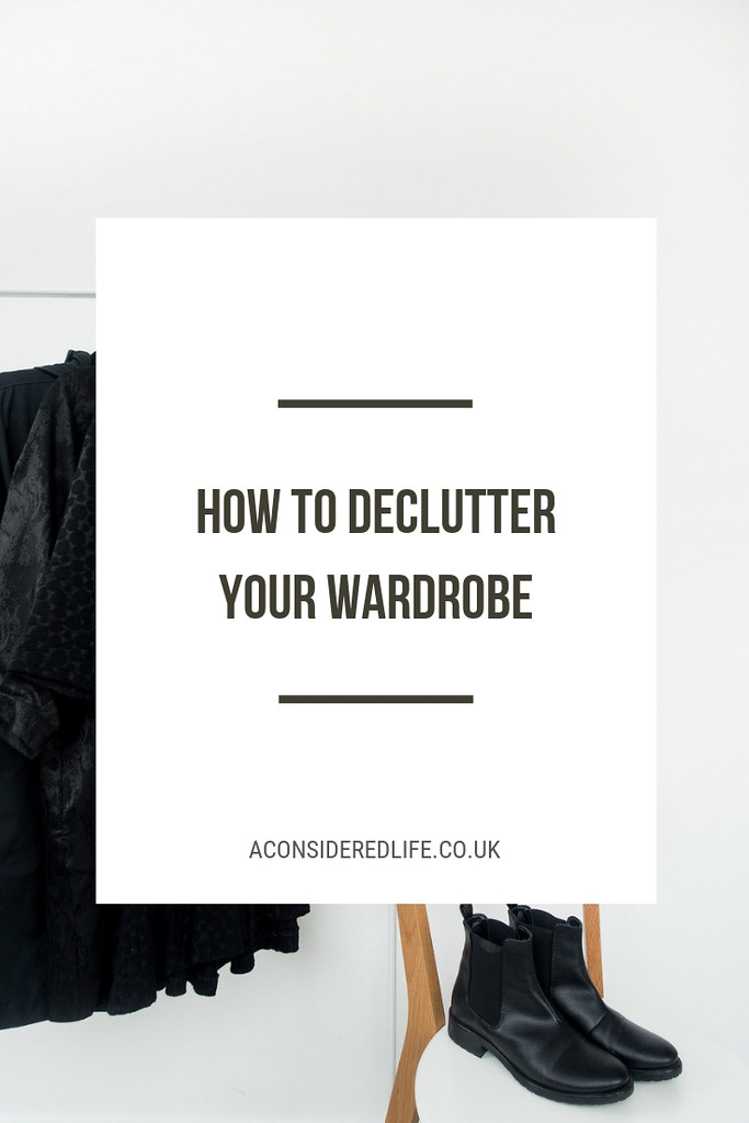New Year Wardrobe Declutter