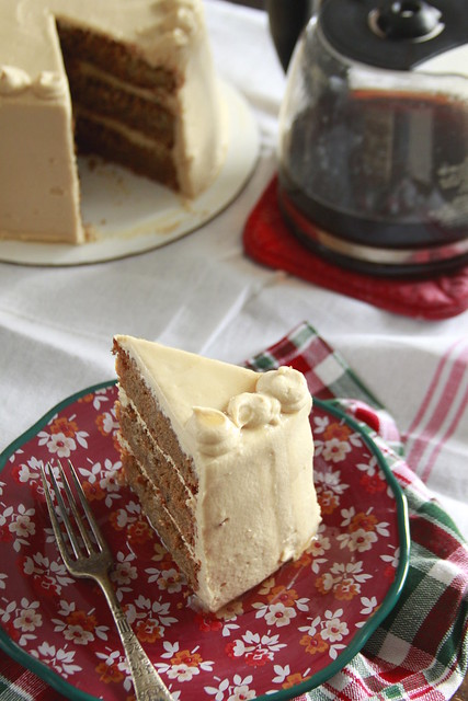 Vermont Coffee Maple Cake