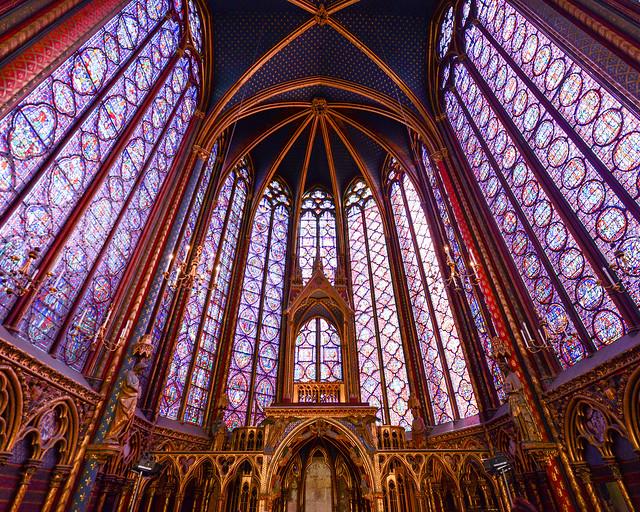 Sainte-Chapelle de París, uno de los mejores sitios que ver en París
