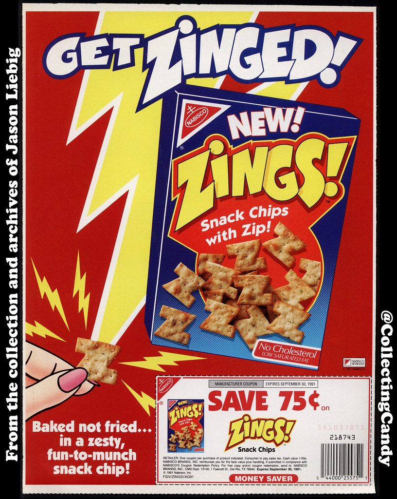 nabisco zings snack chips newspaper circular ad and cou flickr