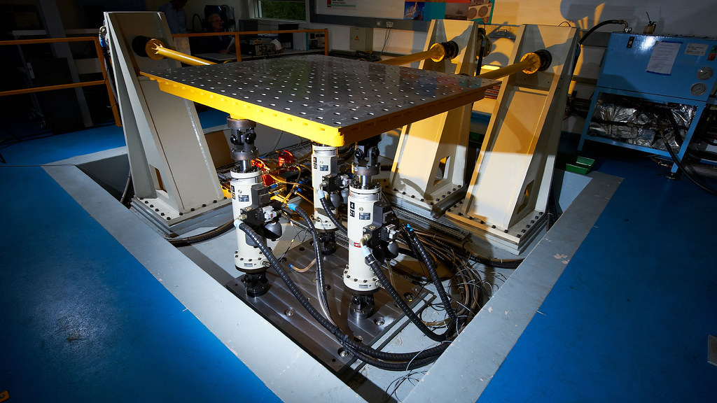 The multi-axis simulation table