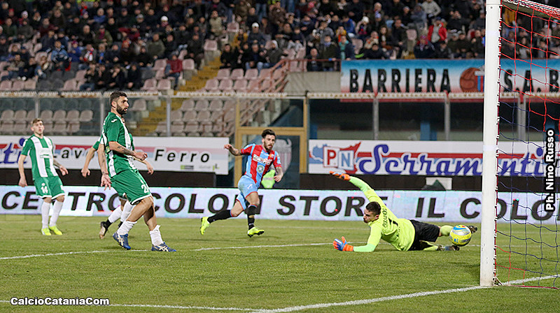 Il gol del 2-0 di Federico Angiulli