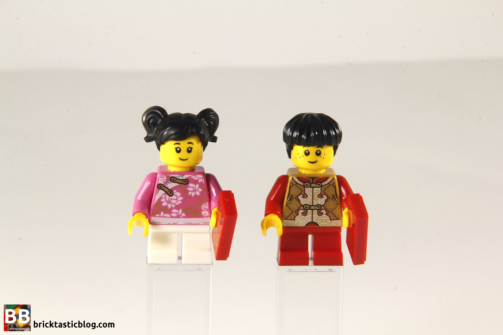 80101 Chinese New Year's Eve Dinner - Child Minifigures