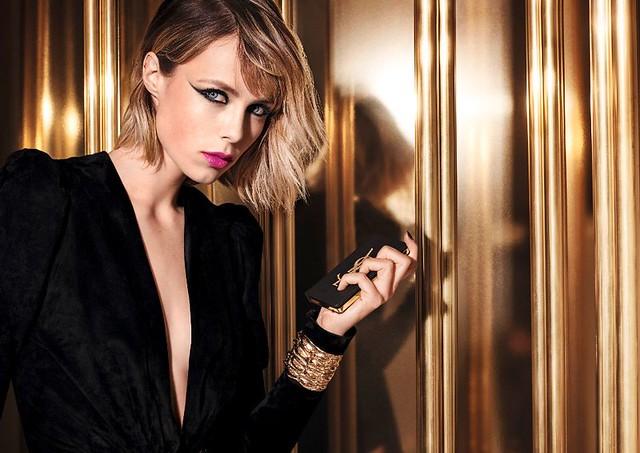 YSL se vista de negro y dorado para celebrar las fiestas 2018