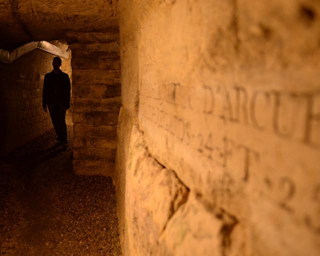 Catacumbas, uno de los lugares que visitar en París