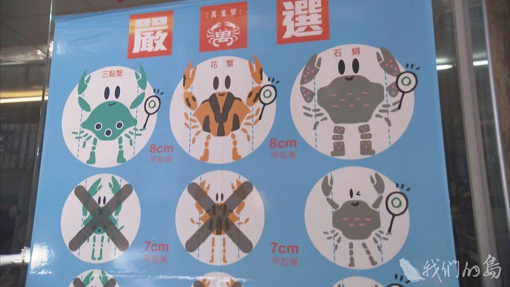 2014年起實施的蟳蟹管制措施。