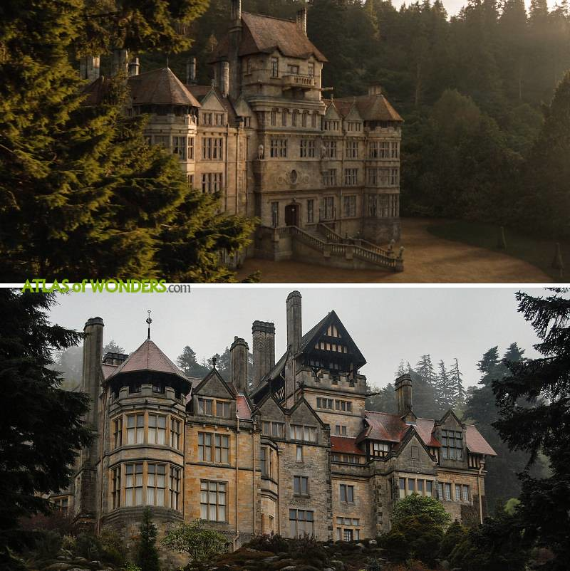 Jurassic World Fallen Kingdom Mansion Location