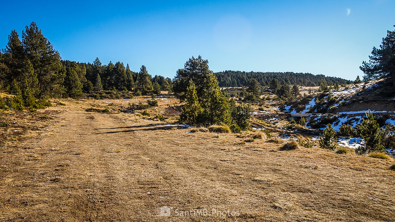 Cerca del claro de Piparlan en Plateau de Beille