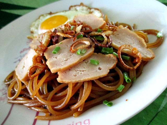 My Bovril gluten-free spaghetti 2
