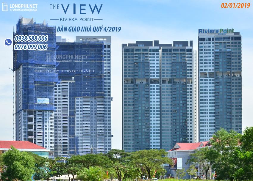 Nhà thầu Hòa Bình (HBC) đang trong quá trình hoàn thiện dự án The View.