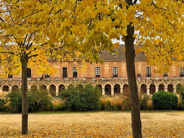 Plaza de Parejas (Aranjuez en otoño)