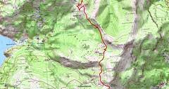 Carte Bocca di a Serra - Pinzu A Vergine au Cap Corse