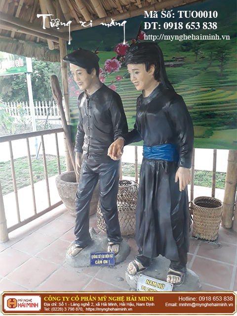 Tuong xi mang mynghehaiminh TUO0010m