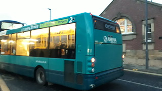Arriva north east 2802 wit a broken wimdow | by Cameron's bus photos