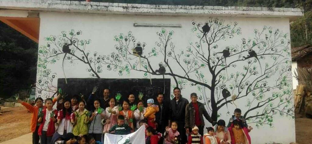 保育行動了十年,最後終於回到人的工作上,渠楠白頭葉猴自然教育基地的實踐。