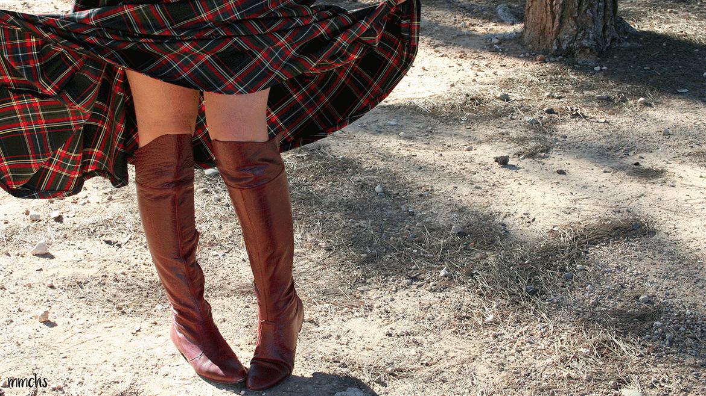 botas de mujer rojas
