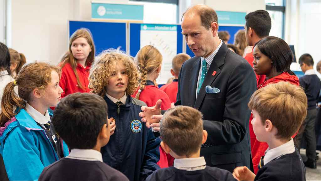 HRH visits our Milner Centre of Evolution during this week's visits.