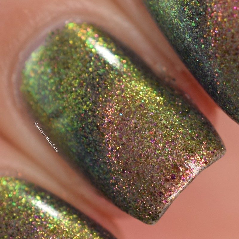 Bees Knees Lacquer I Will Find You In The Next World swatch
