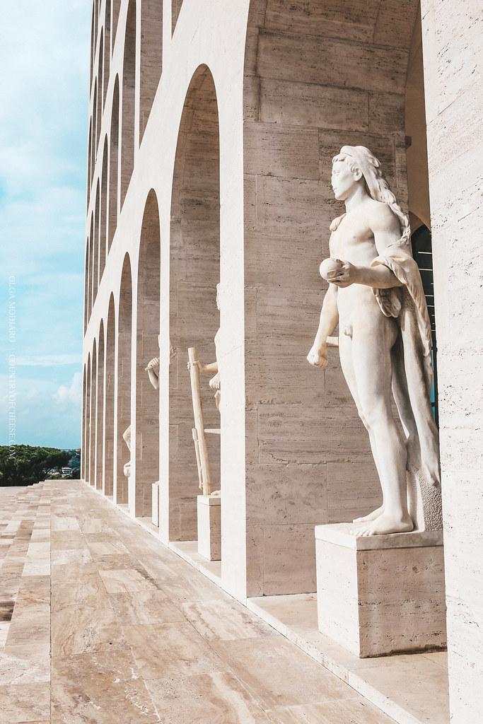 Как попасть в музей Fendi в Риме! Квадратный колизей (Colosseo Quadrato) | countryofcheese.com