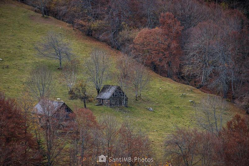 Cabañas en la Val de Toran