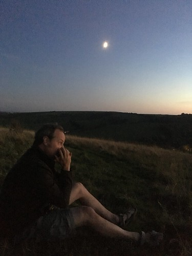 Playing harmonica by moonlight | by dark_dave25
