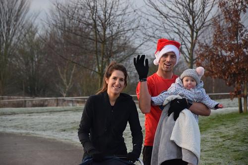 Families on Christmas Day