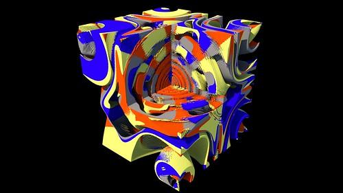 3D Magnetic Pendulum