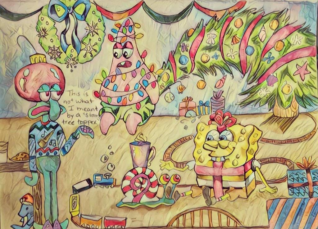 Spongebob Christmas.Spongebob Christmas Elizabeth Rector Flickr