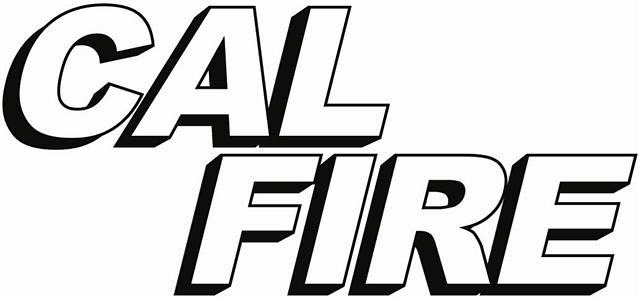logo calfire outline bw small cal fire san diego public affairs