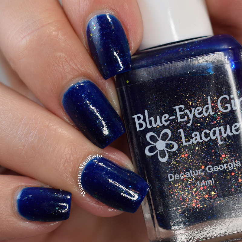 Blue Eyed Girl Lacquer From Dusk To Dawn review