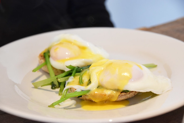 Eggs Florentine on Skye