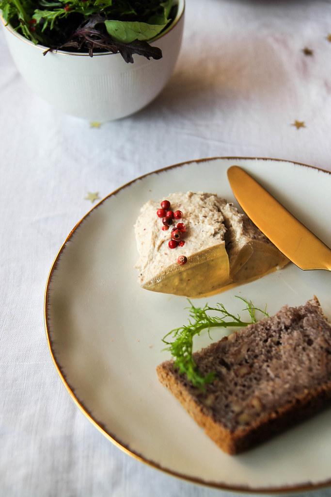 Recette de Mousse de foie gras végétal