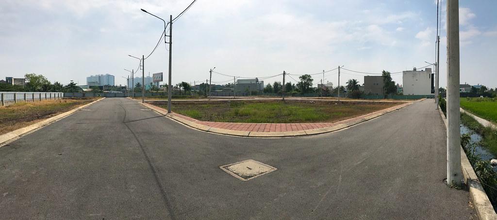Hình ảnh thực tế tại dự án đất nền Bình Chánh Tân Kiên 4