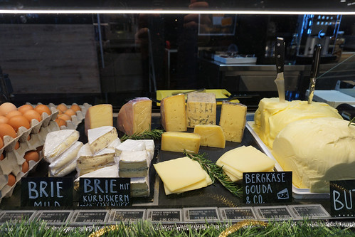 cheese at Markthalle Innsbruck