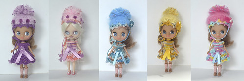 Crochet Sets for Petite Blythe | by Art_emis