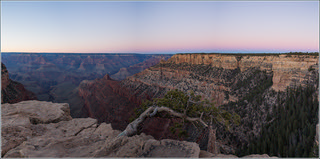 sunset at the grand canyon pano | by Evelakes67