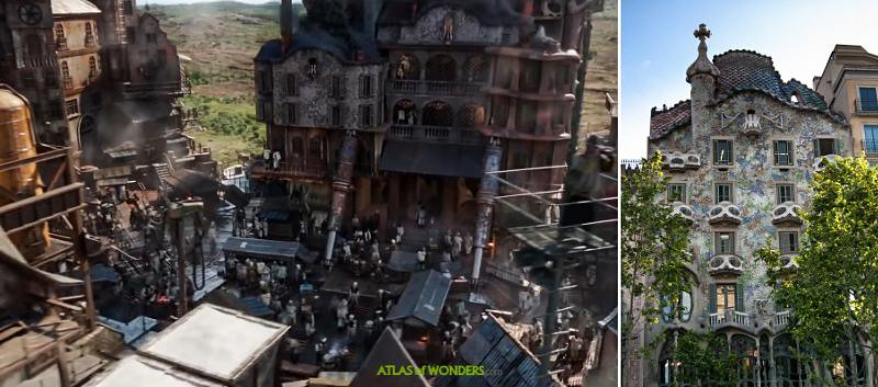 Mortal Engines City