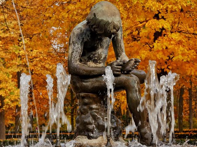 Fuente de la Espina (Jardín de la Isla, Aranjuez)