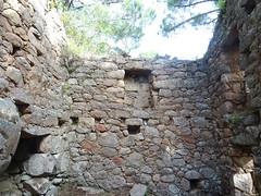 Cuchjaredda : l'intérieur du moulin