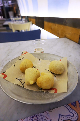 Pizzeria Assaje fried dough balls