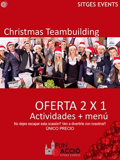 Teambuilding+Menú Navidad Fun Acció